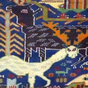 遊牧民の「風に織る絨毯・キリム展」を開催します